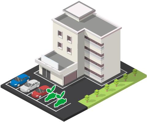 【例3】集合住宅を経営する場合
